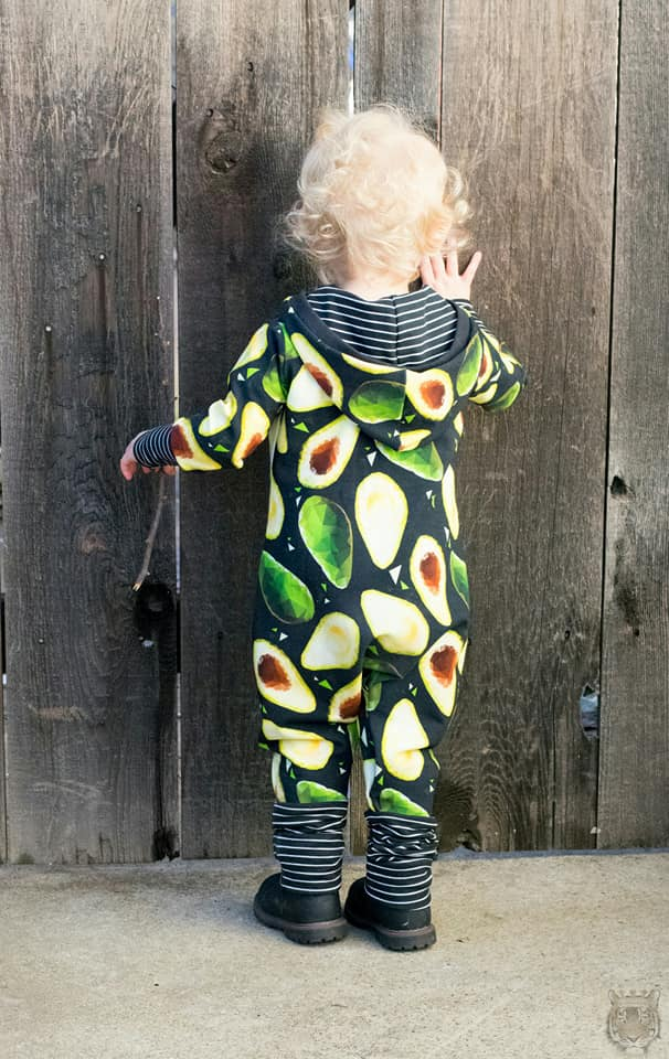 Unisex Beatbox Romper Pattern - Ellie and Mac, Digital (PDF) Sewing Patterns | USA, Canada, UK, Australia