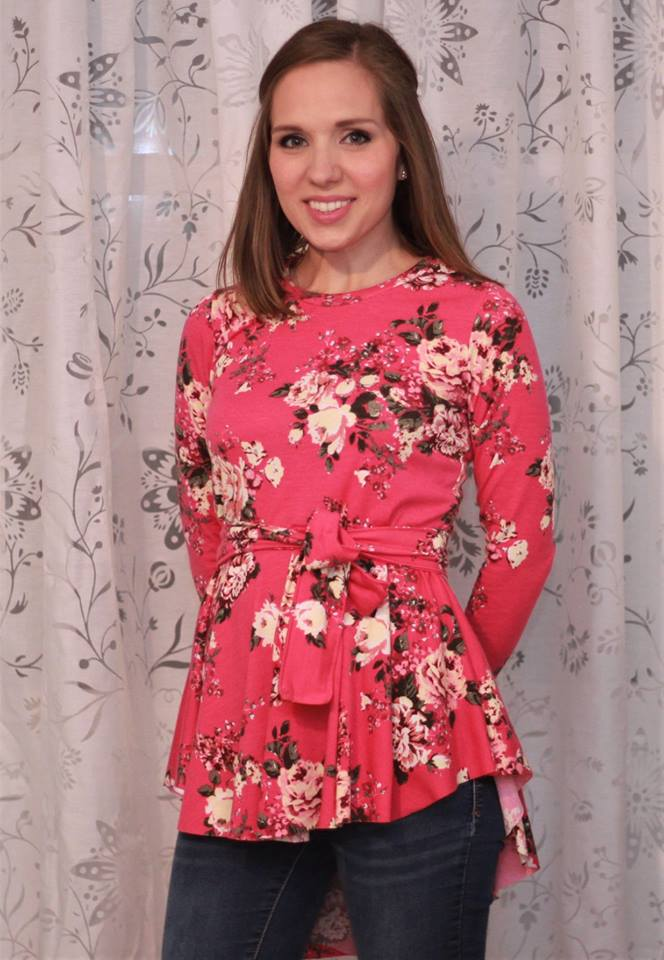 Beautiful Day Top Pattern - Ellie and Mac, Digital (PDF) Sewing Patterns | USA, Canada, UK, Australia