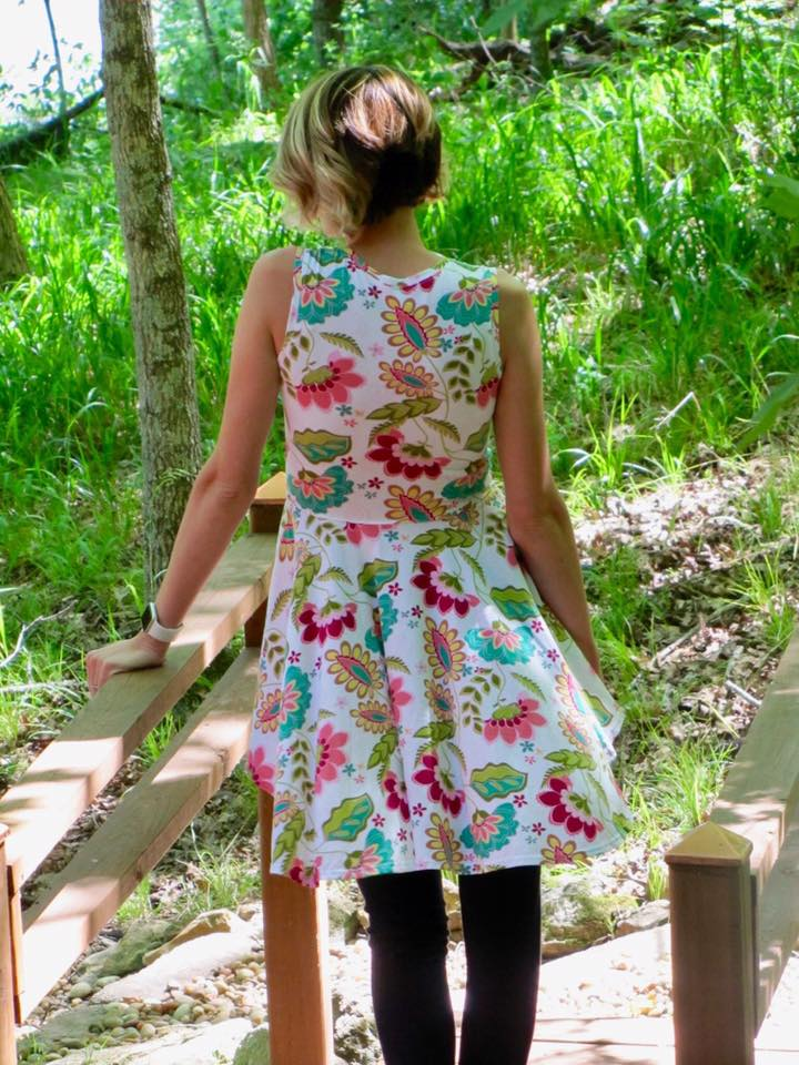 Teen's &  Women's Be Confident Tunic & Dress Pattern - Ellie and Mac, Digital (PDF) Sewing Patterns | USA, Canada, UK, Australia