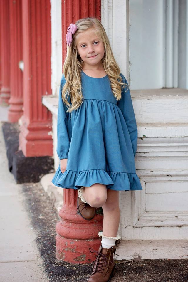 Girl's Be Curious Dress Pattern - Ellie and Mac, Digital (PDF) Sewing Patterns | USA, Canada, UK, Australia
