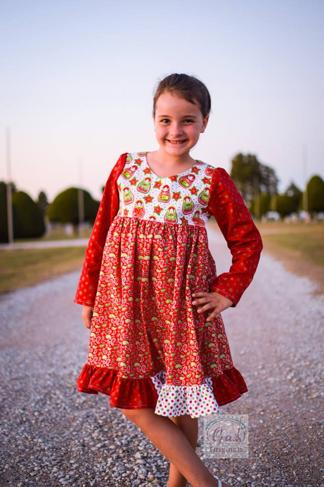 Girl's Be Curious Dress Pattern