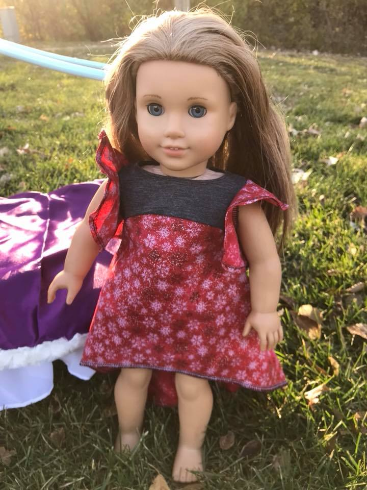 Be Dreamy Doll Dress Pattern - Ellie and Mac, Digital (PDF) Sewing Patterns | USA, Canada, UK, Australia