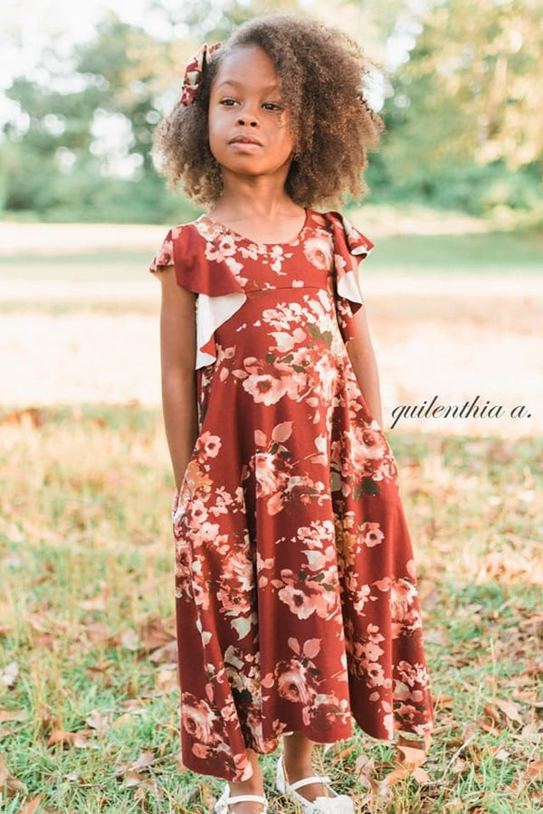 Girl's Be Dreamy Dress Pattern - Ellie and Mac, Digital (PDF) Sewing Patterns | USA, Canada, UK, Australia
