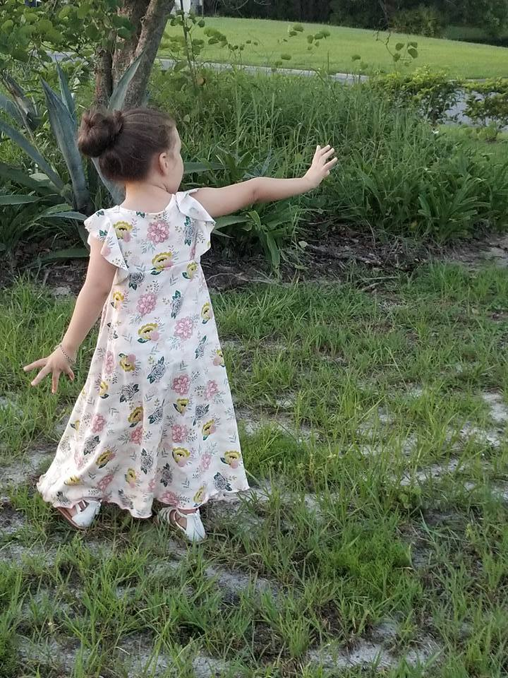 Girl's Be Dreamy Dress Pattern