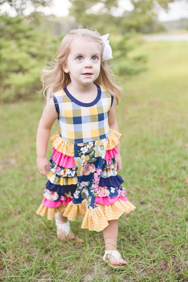 Be Fabulous Dress Pattern - Ellie and Mac, Digital (PDF) Sewing Patterns | USA, Canada, UK, Australia