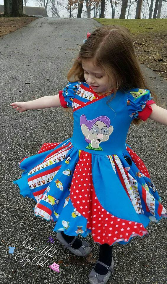 Girl's Be Fearless Dress Pattern - Ellie and Mac, Digital (PDF) Sewing Patterns | USA, Canada, UK, Australia