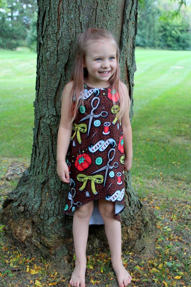 Kids Be Greater Top & Dress Pattern