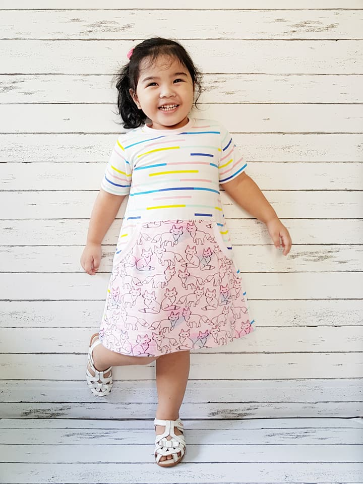 Girl\'s Be Independent Dress, Skirt & Shorties Pattern – Ellie and ...