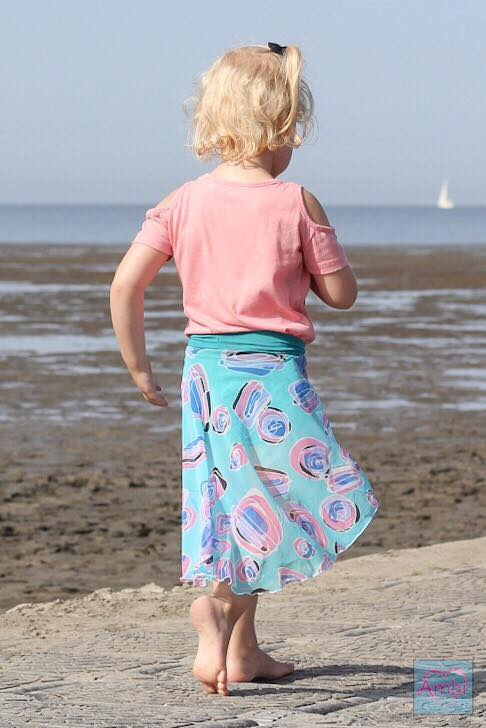 Girl's Be Invincible Skort Pattern - Ellie and Mac, Digital (PDF) Sewing Patterns | USA, Canada, UK, Australia