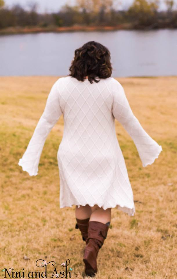 Women's Bell Sleeve Dress Pattern - Ellie and Mac, Digital (PDF) Sewing Patterns | USA, Canada, UK, Australia