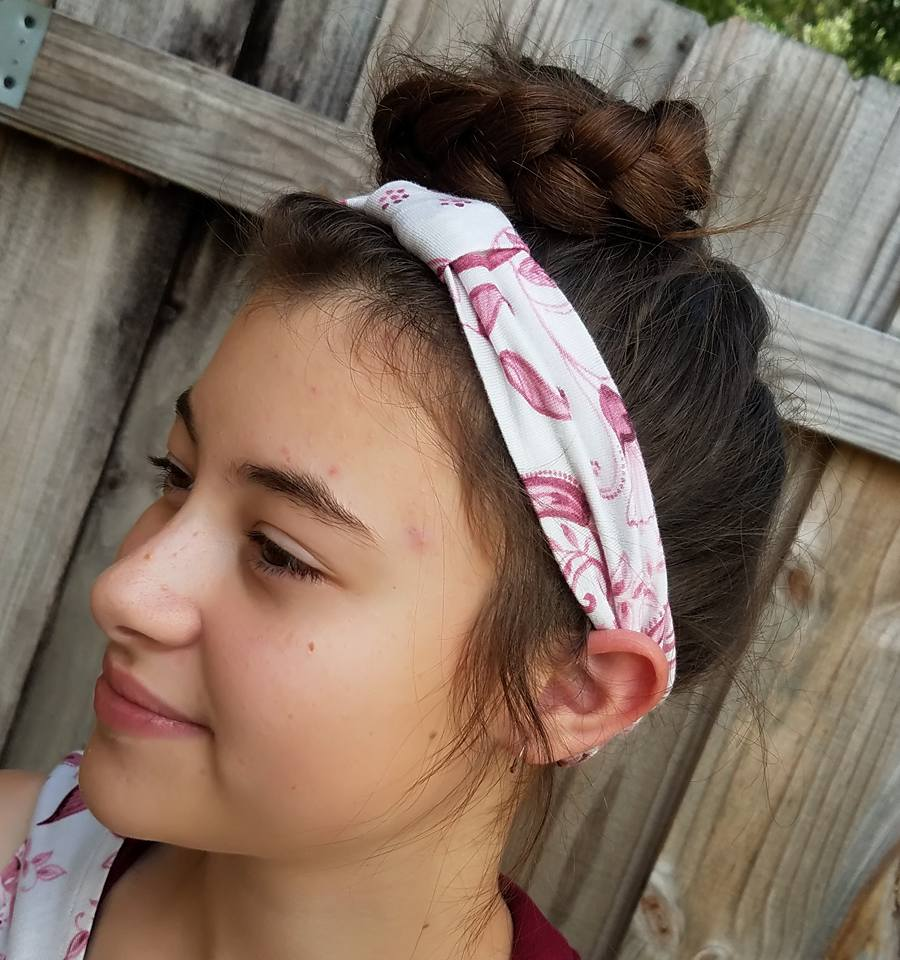 Be Posh Bow Headband Pattern - Ellie and Mac, Digital (PDF) Sewing Patterns | USA, Canada, UK, Australia