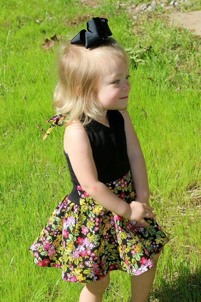 Girl's Be Unstoppable Dress Pattern - Ellie and Mac, Digital (PDF) Sewing Patterns | USA, Canada, UK, Australia