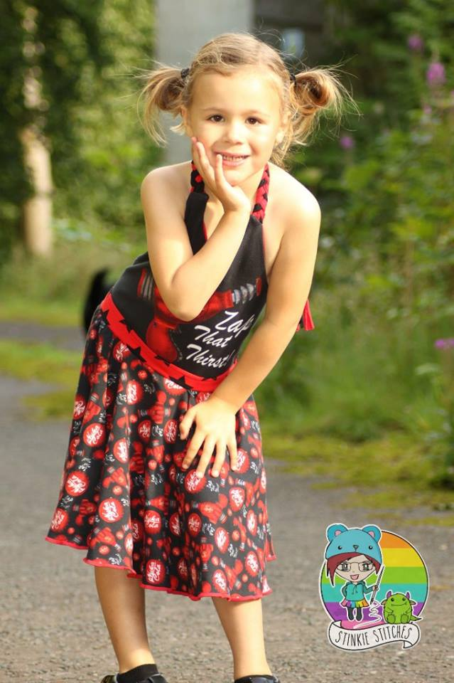 Girl\'s Be Unstoppable Dress Pattern – Ellie and Mac