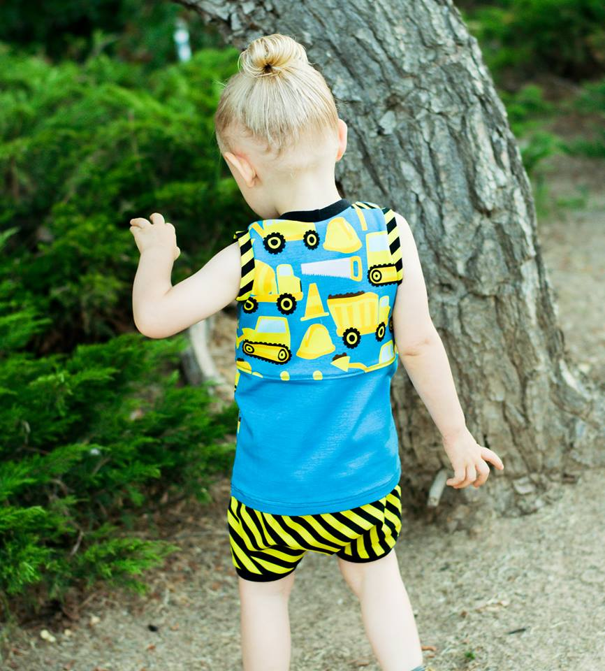 Boy's Great Adventure Tank Top Pattern - Ellie and Mac, Digital (PDF) Sewing Patterns | USA, Canada, UK, Australia