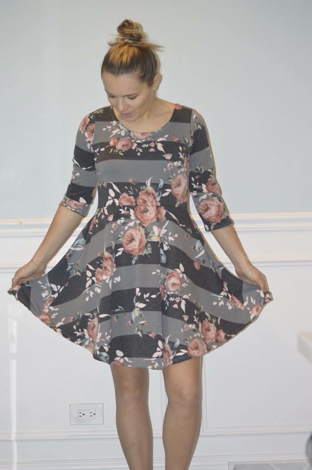 Breezy Women's Dress Pattern - Ellie and Mac, Digital (PDF) Sewing Patterns | USA, Canada, UK, Australia