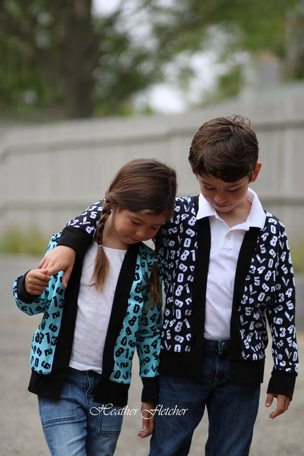 Chapman Cardigan Unisex & Women Pattern Bundle Pack - Ellie and Mac, Digital (PDF) Sewing Patterns | USA, Canada, UK, Australia
