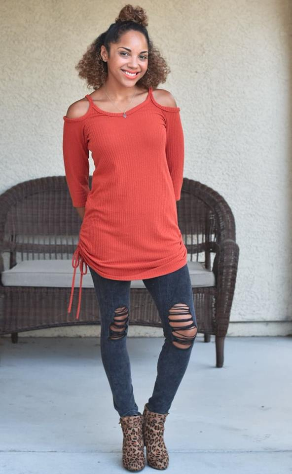 Women's Cold Shoulder Pattern - Ellie and Mac, Digital (PDF) Sewing Patterns | USA, Canada, UK, Australia