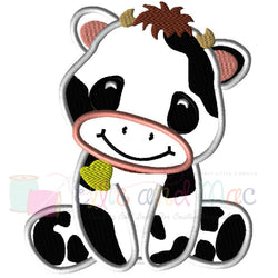 Cow Applique Design - Ellie and Mac, Digital (PDF) Sewing Patterns | USA, Canada, UK, Australia