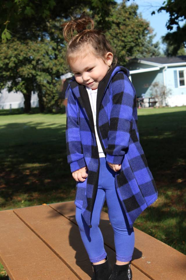 Girl's Stay Cozy Jacket Pattern - Ellie and Mac, Digital (PDF) Sewing Patterns | USA, Canada, UK, Australia