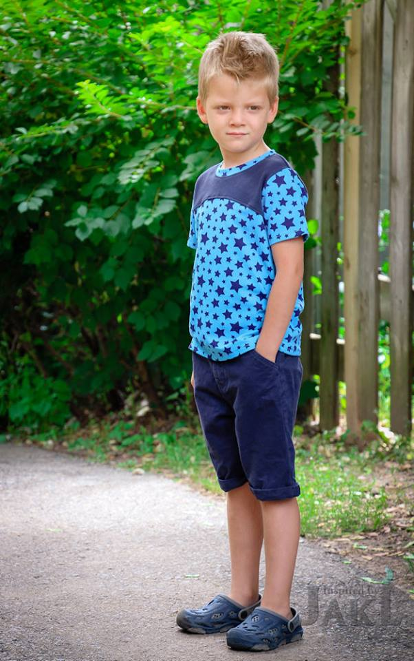 The Discoverer Tee Unisex Pattern - Ellie and Mac, Digital (PDF) Sewing Patterns | USA, Canada, UK, Australia