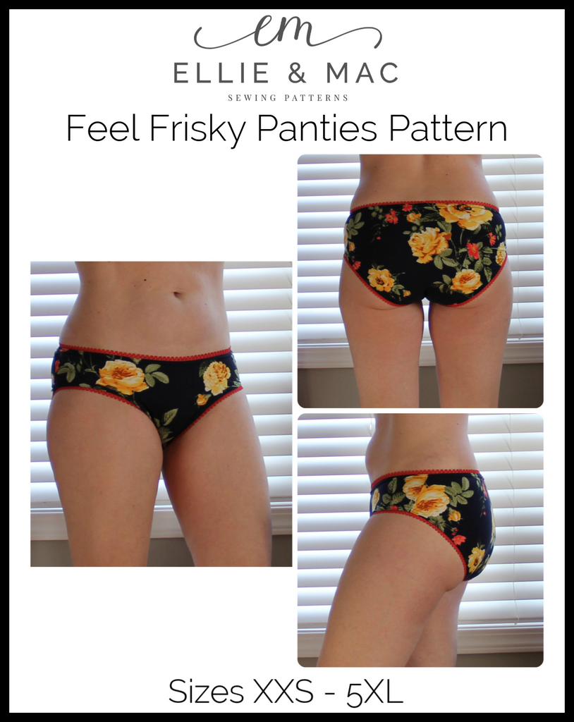 Women's Feel Frisky Panties Pattern