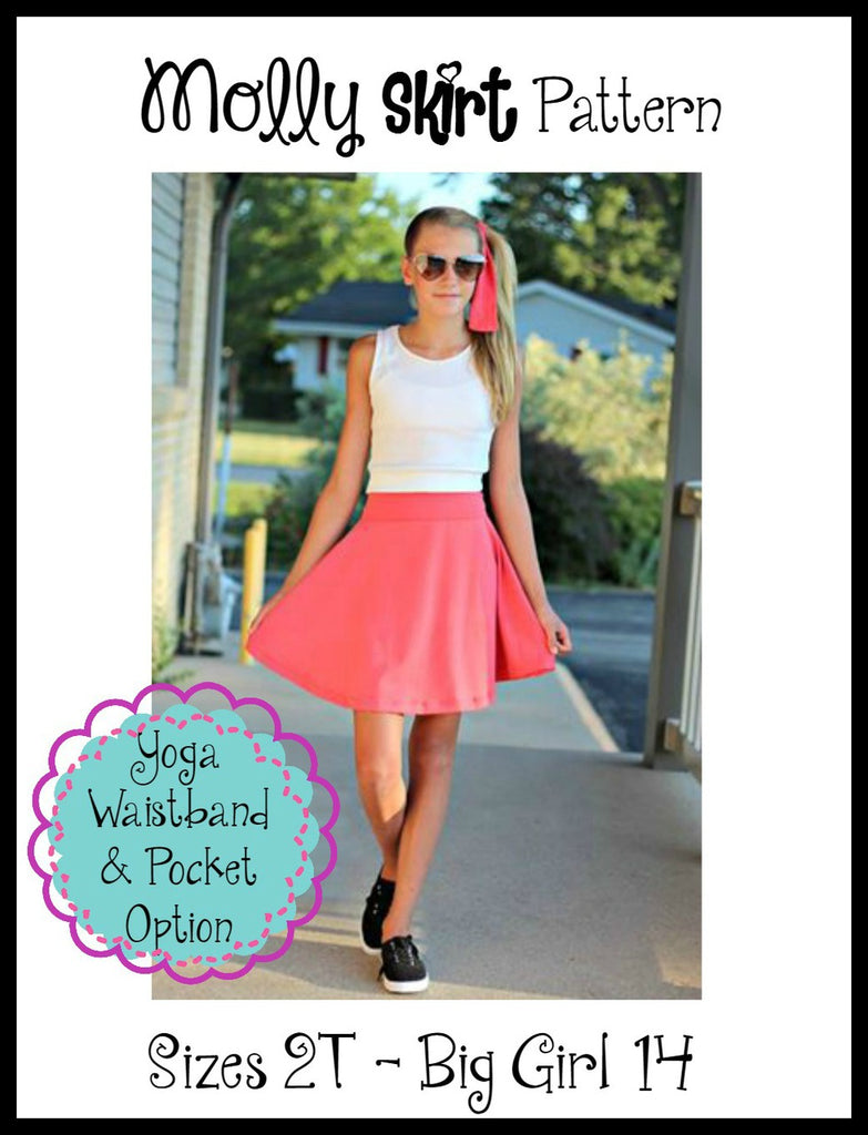 Girl's Molly Skirt Pattern