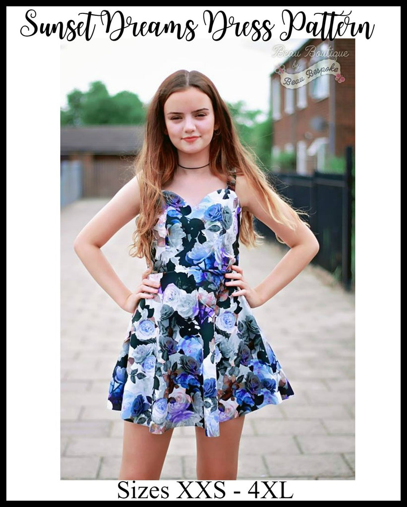 Teen & Women's Sunset Dreams Dress Pattern