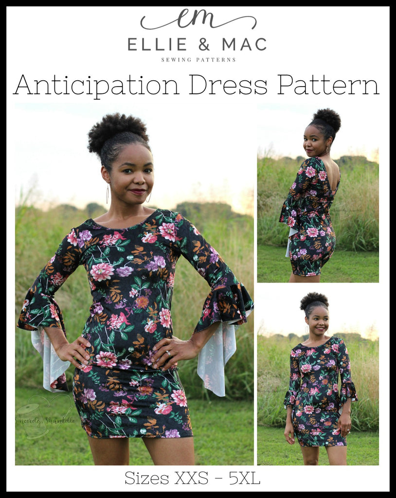 Anticipation Dress Pattern