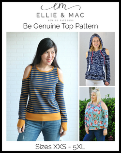 Be Genuine Top Pattern
