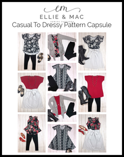 Adult Casual To Dressy Pattern Capsule