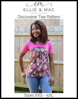 Discoverer Tee Pattern (adult's)