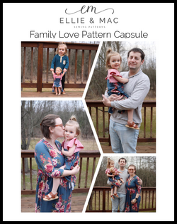 Family Love Pattern Capsule