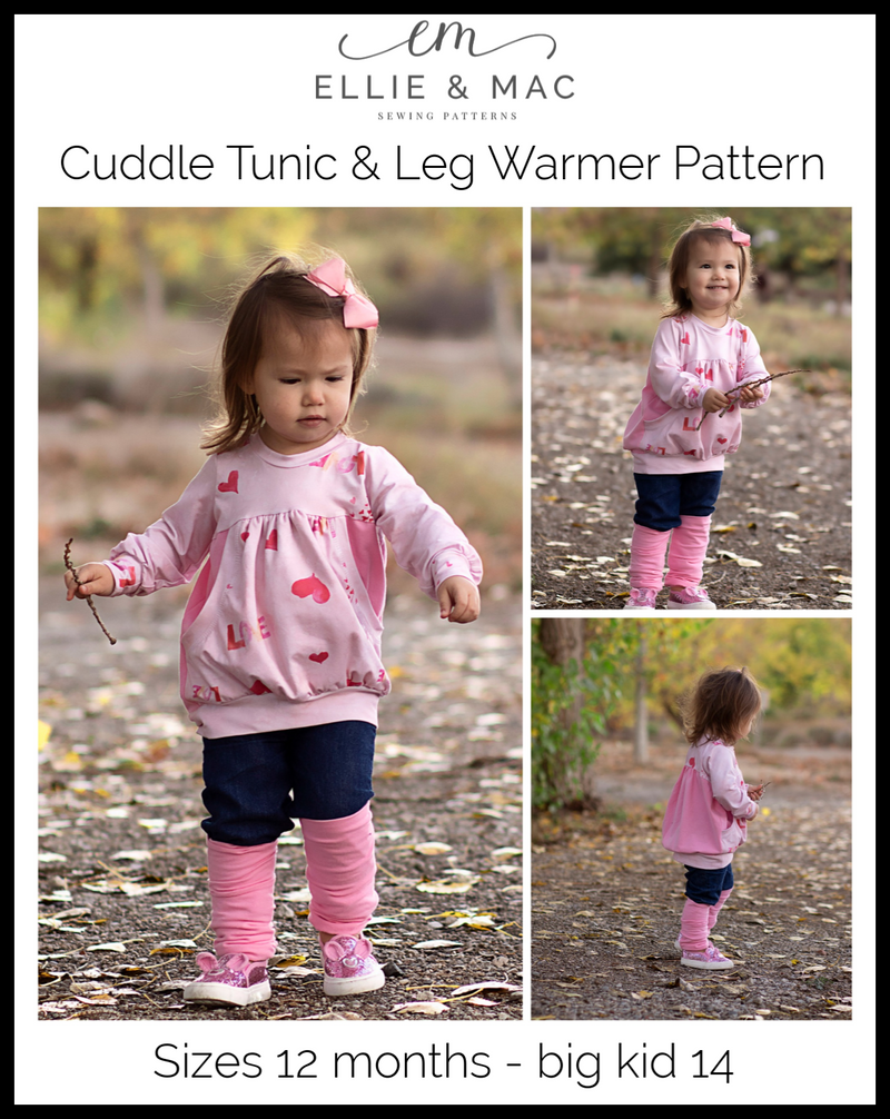 Kids Cuddle Tunic & Leg Warmer Pattern