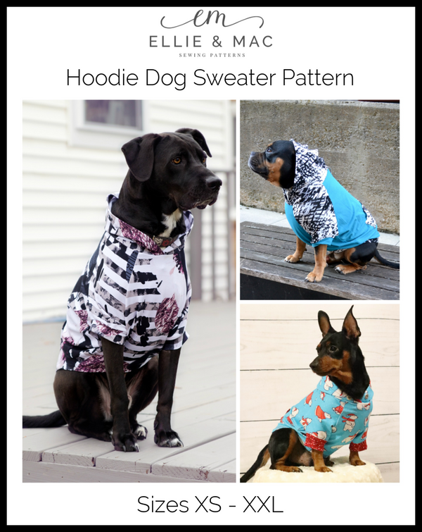 Hoodie Dog Sweater Pattern