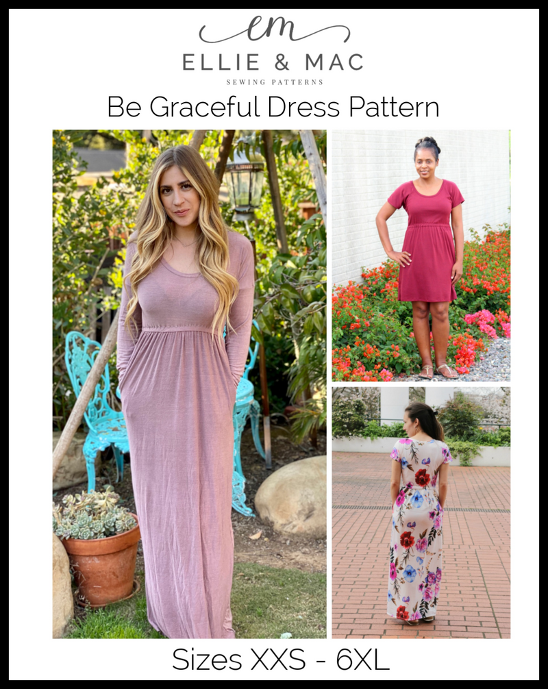 Be Graceful Maxi Dress Pattern