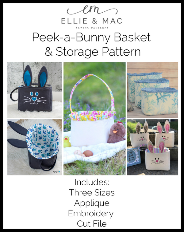 Peek-a-Bunny Basket & Storage Pattern