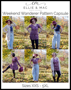 Adult Weekend Wanderer Pattern Capsule