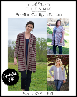 Be Mine Cardigan Pattern