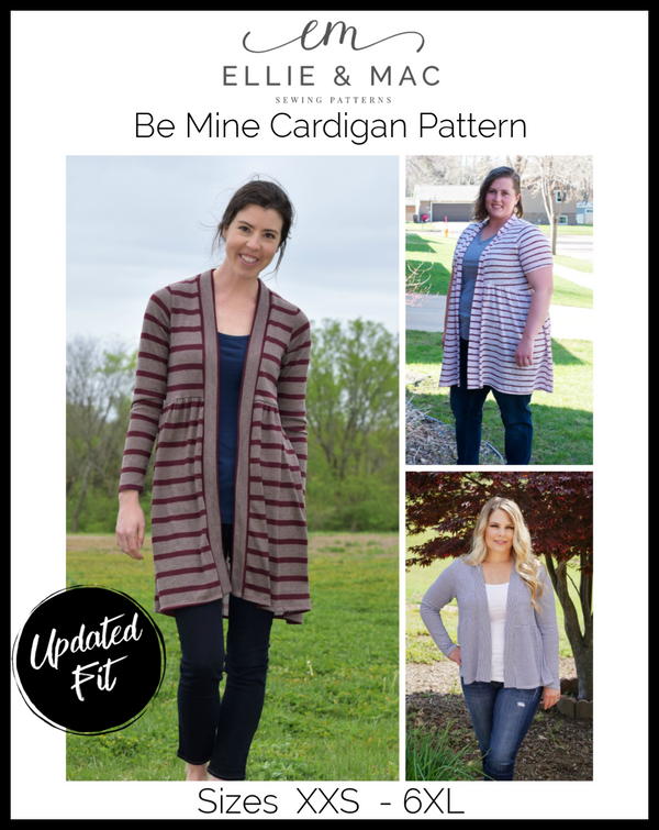 Be Mine Cardigan Pattern Wacky