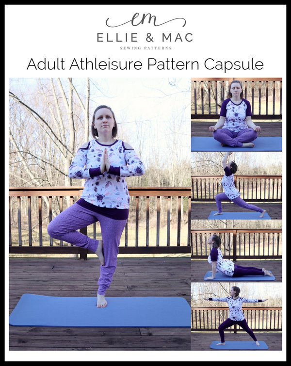 Adult Athleisure Pattern Capsule