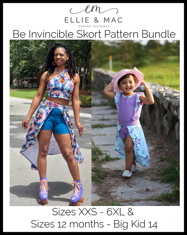 Be Invincible Pattern Bundle