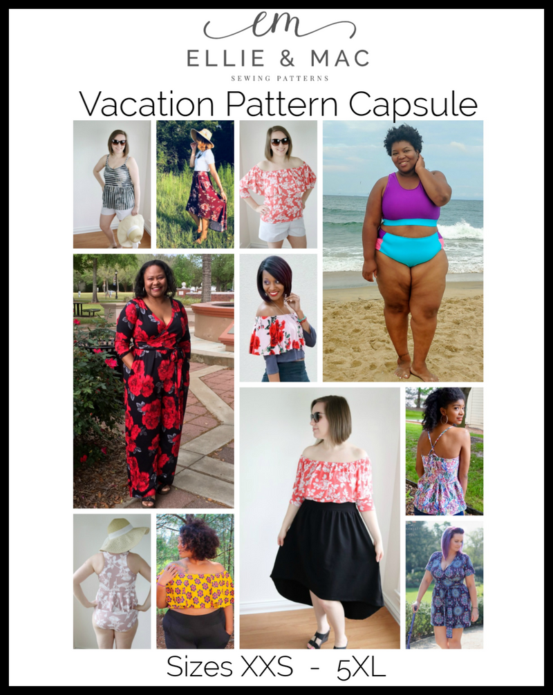 Adult Vacation Pattern Capsule