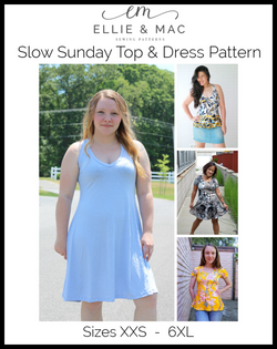 Slow Sunday Top & Dress Pattern Wacky