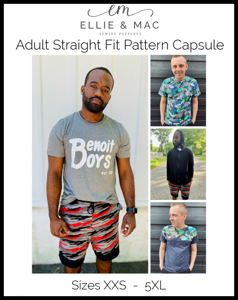 Adult Straight Fit Active Pattern Capsule