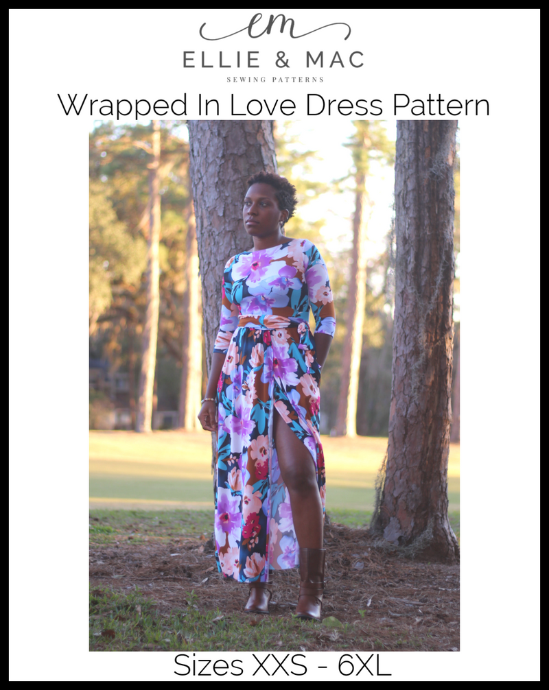 Wrapped In Love Dress Pattern