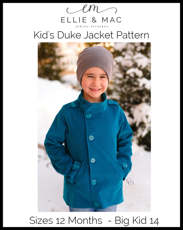 Kids Duke Jacket Pattern