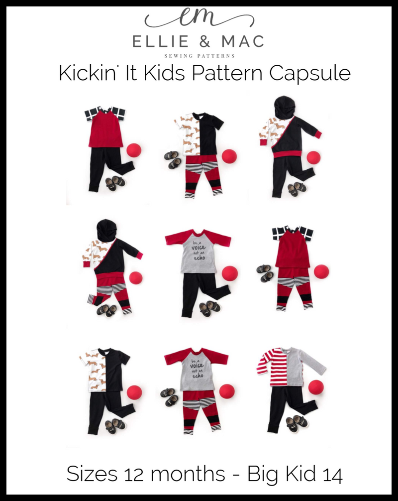 Kickin' It Kid Style Pattern Capsule