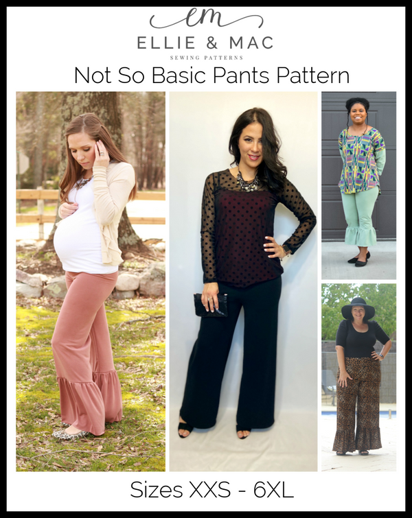 Not So Basic Pants Pattern Wacky
