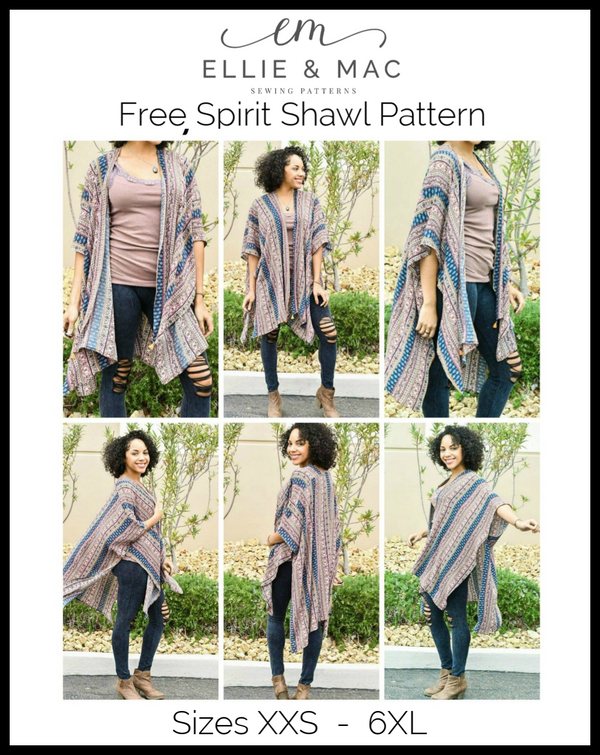 Free Spirit Shawl Pattern