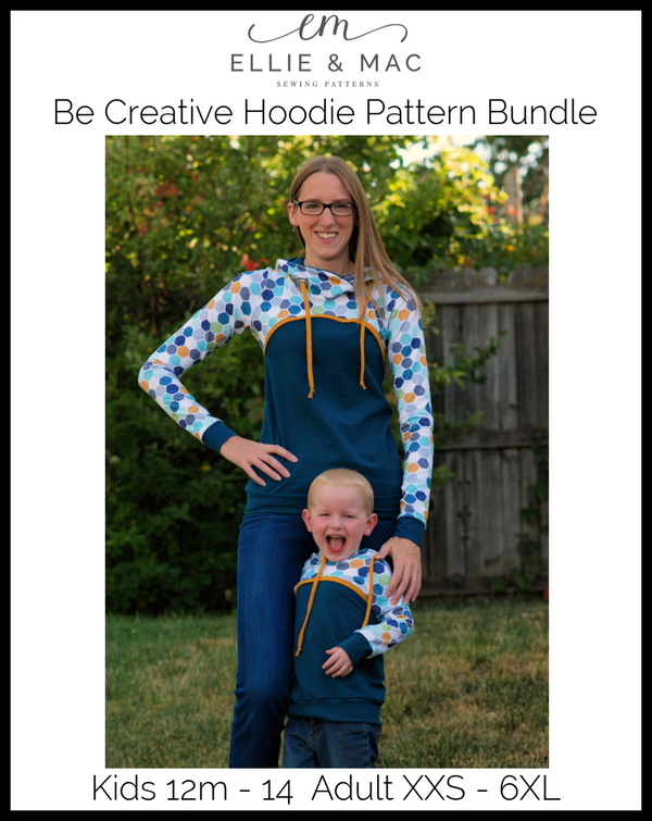 Be Creative Hoodie Pattern Bundle